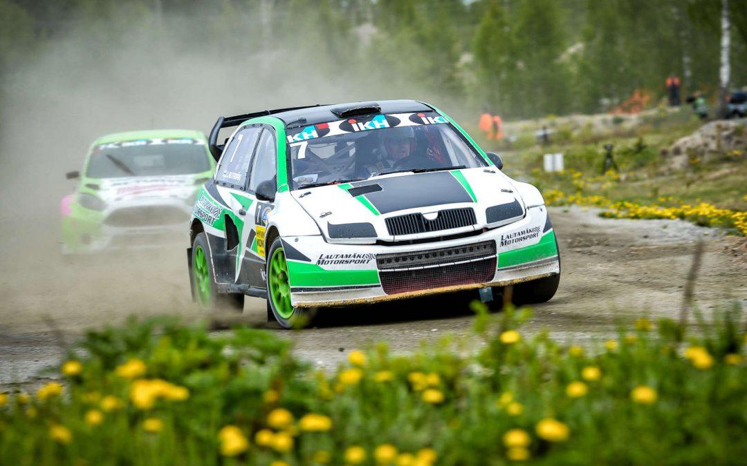 Rallicrossin SM sarja jatkuu Jalasjärvellä Murtoharjun moottoriurheilukeskuksessa 19.8.